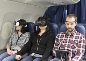 One practical application of the technology developed at the NRC is to combat in-flight anxiety, which approximately 40% of people reportedly suffer from.