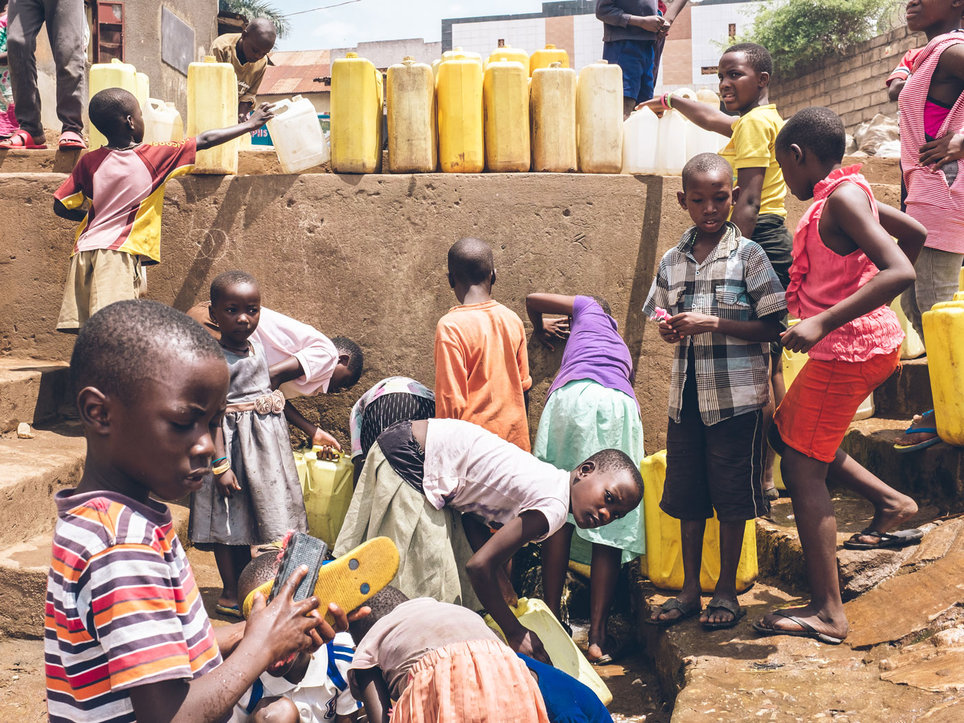 seeking safe water solutions in the slums of sub saharan africa